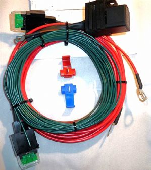 Split charge relay kit<BR> Available in 12volt 30A, 24 volt 20A, 24volt 40A variants